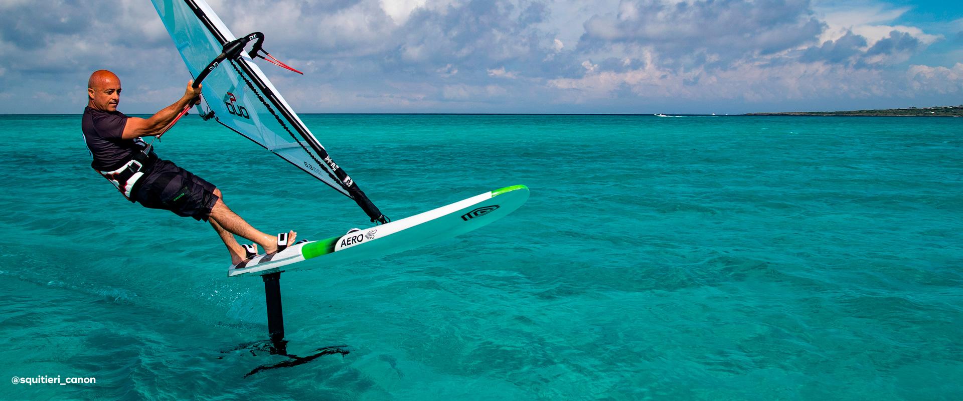 I 99 Aero Foil Freeride Board I 99 Windsurfing